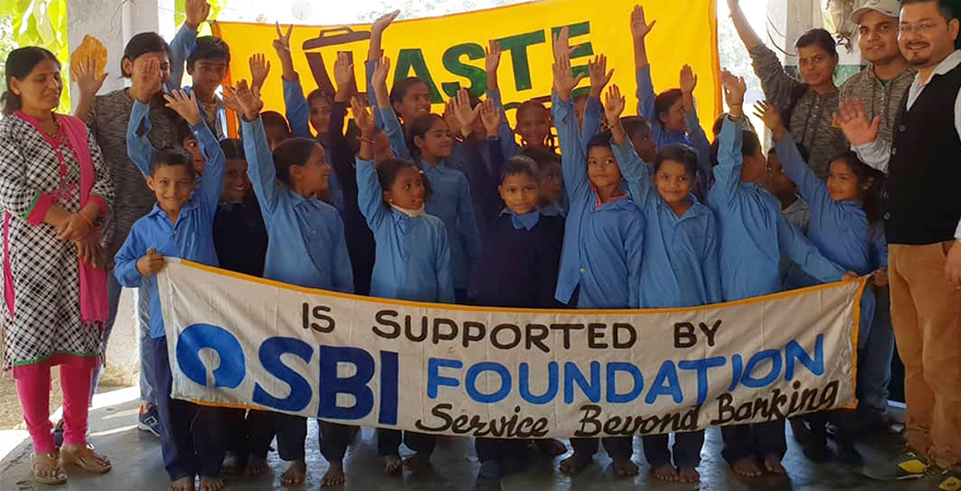 SBI-Foundation Contribute for - SBI Foundation aims at providing access to quality education. Children have a right to state-funded quality universal education, a standard of instruction, class engagement, good teachers and a better administration.  Sustainable Development Goals SDGs Goal 4 Quality Education