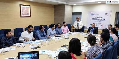 SBI Foundation Media - A review meeting of SBI Gram Seva Program