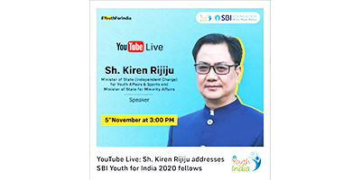 SBI Foundation New -Watch us LIVE on YouTube