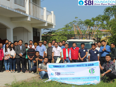 SBI Foundation Project - Waste to Gold