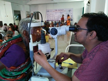 SBI Foundation Project - SBI Eye Care